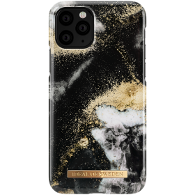 iDeal of Sweden iDeal Fashion Skal för iPhone 11 Pro - Black Galaxy Marble