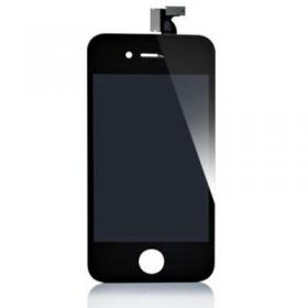 OEM iPhone 4S Display Glas med LCD - Svart