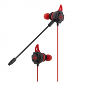 Deltaco gaming Deltaco Gaming Headset in-ear 30Hz - 16kHz - Svart/Röd
