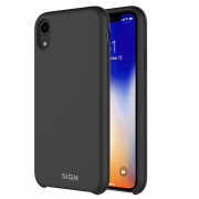 SiGN SiGN Liquid Silicone Case för iPhone XR - Svart