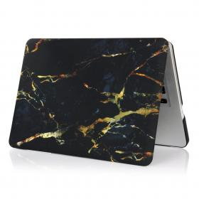 "MacBook Air 13"" Skin Marmor - Svart/Guld"