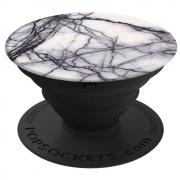 PopSockets Mobilhållare - White Marble