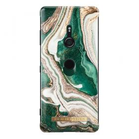 iDeal of Sweden iDeal Fashion Case för Sony Xperia XZ3 - Golden Jade Marble