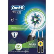Oral B Oral B Eltandborste Pro790 CrossAction Duo