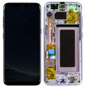 Samsung Galaxy S8 Skärm med LCD-display - Violett - Original