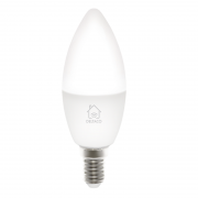 DELTACO Deltaco Smart Home LED-lampa, E14, WiFI, dimbar, 2700K-6500K
