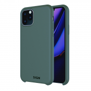 SiGN SiGN Liquid Silicone Case för iPhone 11 Pro Max - Mint