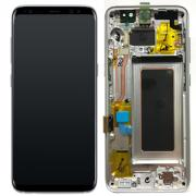 Samsung Galaxy S8 Skärm med LCD-display - Silver - Original