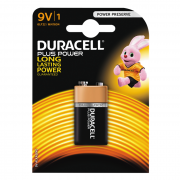 Maxell Duracell Plus Power 9V Batteri LR61, 1 st