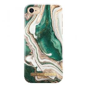 iDeal of Sweden iDeal Fashion Case för iPhone 6/6S/7/8 - Golden Jade Marble