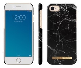 iDeal of Sweden iDeal of Sweden iPhone 6/6S/7/8 - Black Marble