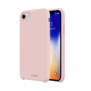 SiGN SiGN Liquid Silicone Case för iPhone 7 & 8 - Rosa