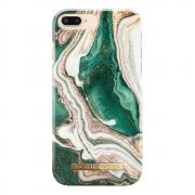iDeal Fashion Case för iPhone 6/6S/7/8 Plus - Golden Jade Marble