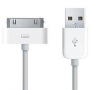Apple iPhone 4 & 4s laddningssladd 1m kabel