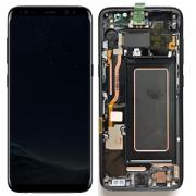 Samsung Galaxy S8 Skärm med LCD-display - Svart - Original