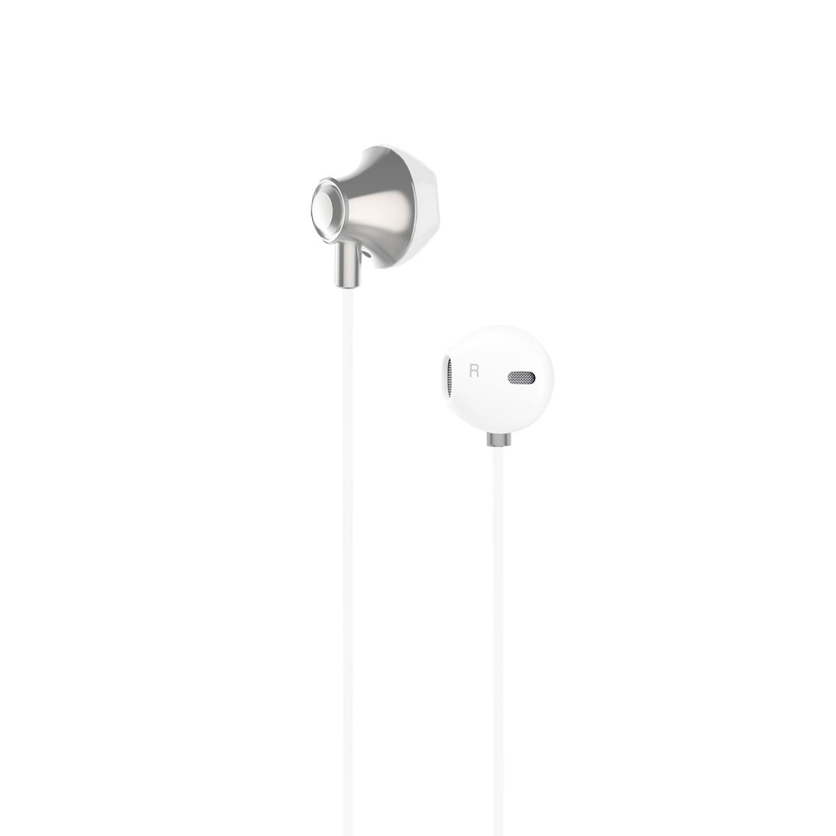 Champion Hörlurar Headset EarPod - Vit Metallic