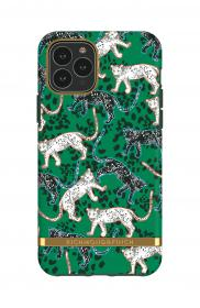Richmond Richmond & Finch Skal för iPhone 11 Pro - Green Leopard