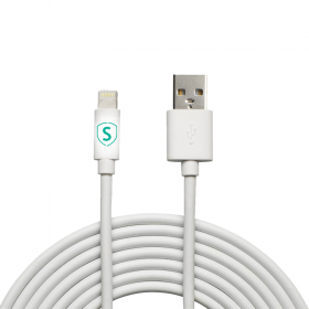 SiGN SiGN Lightning-kabel till iPhone / iPad, MFi-certifierad - 2 m