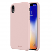 SiGN SiGN Liquid Silicone Case för iPhone XS Max - Rosa