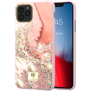 Richmond RF by Richmond & Finch Skal för iPhone 11 Pro - Pink Marble Gold