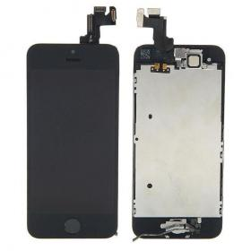 OEM iPhone 5S Komplett LCD & Digitizer - Svart