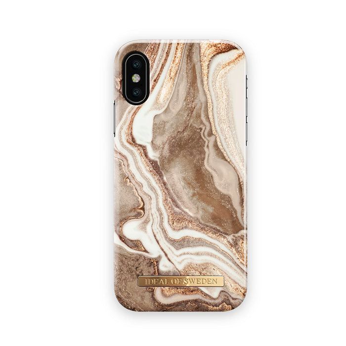 IDeal Fashion Skal för iPhone XXS Golden Sand Marble