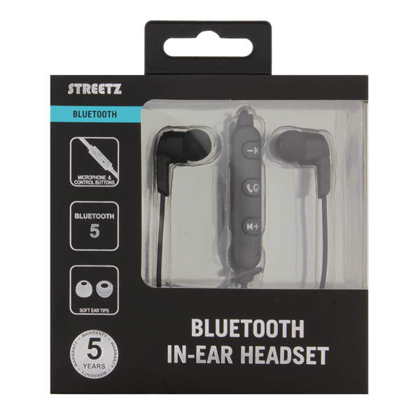 STREETZ Streetz Bluetooth Hörlurar in ear - Svart