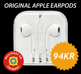 Apple Earpods 94kr - Teknikdelar.se