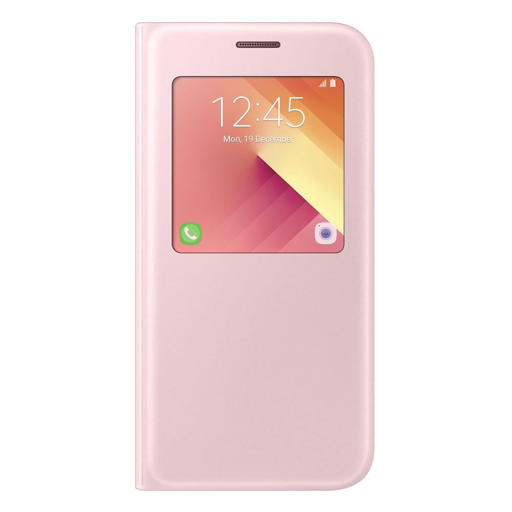 samsung galaxy a5 2017 s view standing cover rosa k p. Black Bedroom Furniture Sets. Home Design Ideas