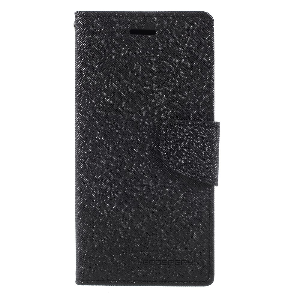 Mercury Goospery Fancy Diary Fodral Till Iphone X Xs Svart Kp Case Black Brown