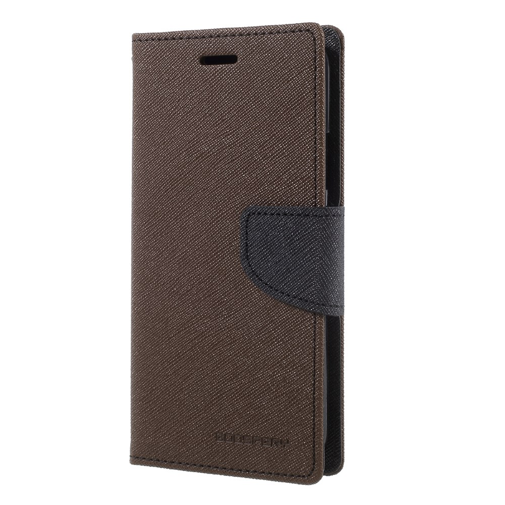 Mercury Goospery Fancy Diary Fodral Till Iphone X Xs Brun Kp Hr Case Black Brown