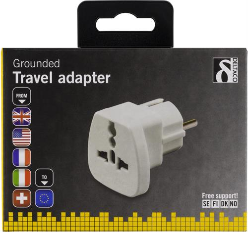 Laddningsskal USB laddare USA kontakt UK kontakt 3 USB