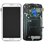 Samsung Galaxy Note 2 LTE Skärm med LCD-display, Vit