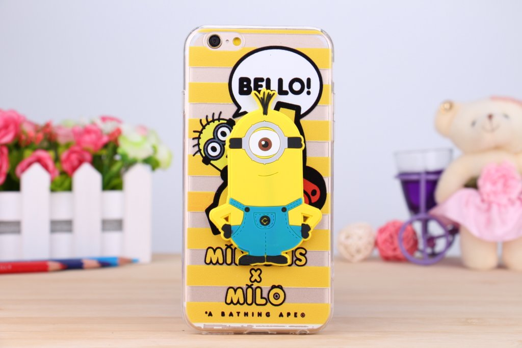BELLO! Minion TPU-Skal till iPhone 4/4S